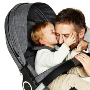 Stokke Baby and dad