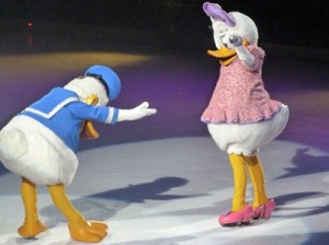 Donald and Daisy on Valentines